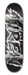 Siren Complete Team Shocker Skateboard Deck - Black/White - Size: 7.75