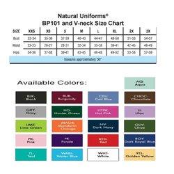 Natural Uniforms Women's Scrub Top & Pant Set - Ceil Blue - Size: L