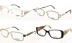Caviar Women's Designer Eyeglasses: Style 4855 - 16
