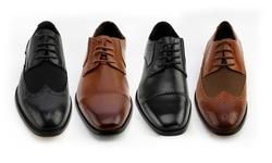 Xray Fleet Captoe Oxford Shoes: Tan/9