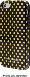 Isaac Mizrahi New York Mini Dot Case for Apple iPhone SE 5S & 5 - Blk/Gold