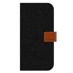 ARAREE NEAT DIARY for iPhone 6  - Retail Packaging - Cashmere Black
