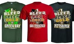 Encore Select I Bleed Football T-shirts: San Francisco/xxl