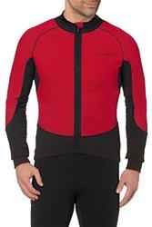 VAUDE Men's Pro Warm Tricot Jersey, Red, X-Large