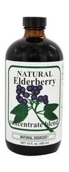 Natural Sources Elderberry Concentrate Blend - 16 Fluid Ounce