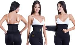 Hot Belt Hot Shapers Waist Trainer Belt - Black - Size: Small-Medium