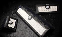 Majer Outdoor Wireless Motion Sensing Solar Powered LED Light - 20 LED