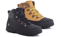 Adolfo Men's Work Boots Ralph: Black/8.5