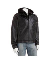 Vintage Leather Men's Varsity Jacket - Black - Size: 2XL