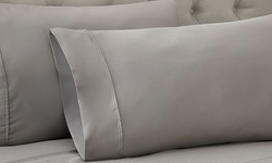 Hotel New York 1500tc Cotton Rich Sheets Set - Taupe - Size: Queen
