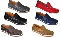 Frenchic Men's Slip-on Loafers - Brown - Size: 8.5