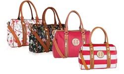 Mkf Collection Stylish Duffle Bag - Red/Las Vegas - Size: Medium