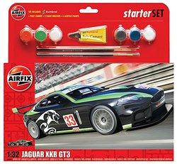Airfix 1:32 Jaguar XKRGT 'Fantasy Scheme' Starter Set ()