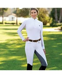 Romfh Sarafina Breeches - Ladies Full Seat - Size:26 Long Color:Navy/Navy
