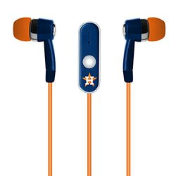 MLB Houston Astros Hands Free Earbuds with Microphone