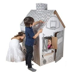 Harmony Color & Create Cardboard Clubhouse