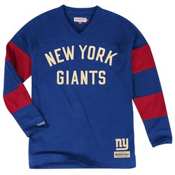 VF NFL New York Giants Men's Field Goal T-Shirt - R Blue - Size: XXL