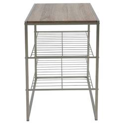Threshold Stackable 3 Shelf Rack - Grey Birch
