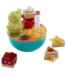 Fisher-Price Deep Blue Sea Stacker Wooden Toys