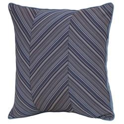 "Smith & Hawken 22""x22""x6"" Azure Polyester Outdoor Back Cushion - Deep Blue"