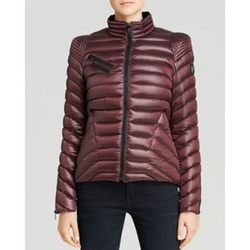 Dawn Levy New York Bell Short Puffer Jacket - Ruby - X-Small