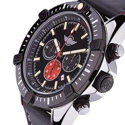 Zentler Men's Freres Ravenmocker Chronograph Watch - Black