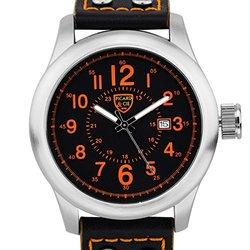 Picard & Cie Stellihorn Men's Watch - Black/Orange