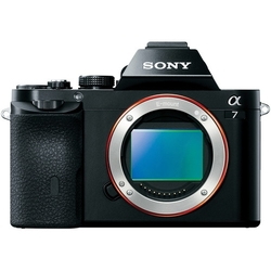 Sony Alpha a7 24.3MP Digital Camera - Black (ILCE7K/B)