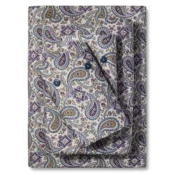 Bedeck  Ila Sheet Set - Navy Paisley - Size: King