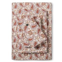Bedeck  Ila Sheet Set - Magenta Paisley - Size: King