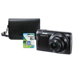 Fujifilm 16MP Digital Camera Bundle - Black (T555)
