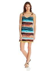 Skhoop Women's Molly Mid Dress, Medium, Aqua
