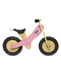 Kinderfeets Tiny Tot 2-1 Tricycle/Balance Bike - Pink