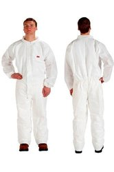 3M Disposable Protective Coverall Safety Work Wear - Size: XXL - 25 Pack