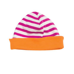 giggle giggle Better Basics Striped Skull Hat (Organic Cotton)