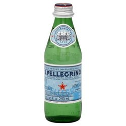 S Pellegrino Mineral Glass 4 x 6Pk - Size: 250 mil