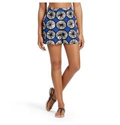 Marimekko for Target Women's Short - Appelsiini Print - Blue