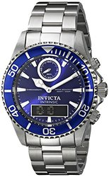 Men's Pro Diver SS Blue Dial Stainless Steel Blue IP SS Bezel