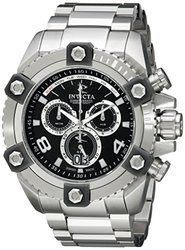 Invicta Men's 0335 Reserve Chronograph Black Dial Watch
