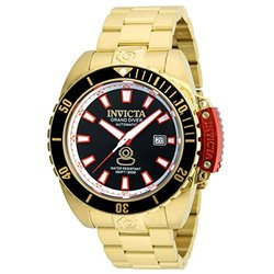Invicta Men's 21379 Pro Diver Automatic 3 Hand Black Dial Watch