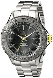 Invicta Men's 17557 Pro Diver Analog Display Japanese Quartz Silver Watch