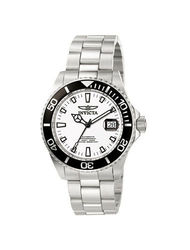 Invicta Men's 1002 Pro Diver Stainless Steel Watch - Black/White