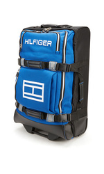 """Tommy Hilfiger Luggage 26"""" Global Sport Spinner - Black/Blue"""
