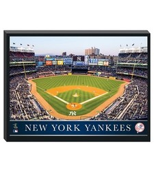 New York Yankees Stadium Metallic Canvas