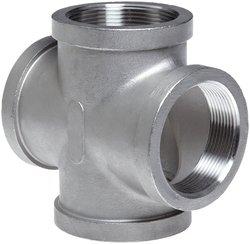 """Merit Brass Stainless Steel 304 Cast Pipe Fitting 4"""" NPT Female"""