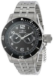 Men's Specialty Black Carbon Fiber Dial Stainless Steel