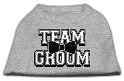Mirage Pet Products Team Groom Screen Print Shirt Grey XXL (18)