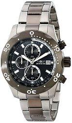 Invicta Men's Sea Specialty Quartz Chrono Stainless Steel Bracelet Watch Gunmetal Men's