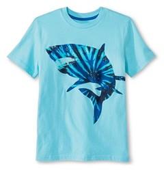 Boys' Blue Shark Graphic Tee - Circo?
