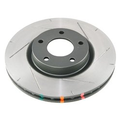 DBA DBA42956SL 4000 Series 6x6 Wiper-Slot Front Vented Left-Hand Disc Brake Rotor